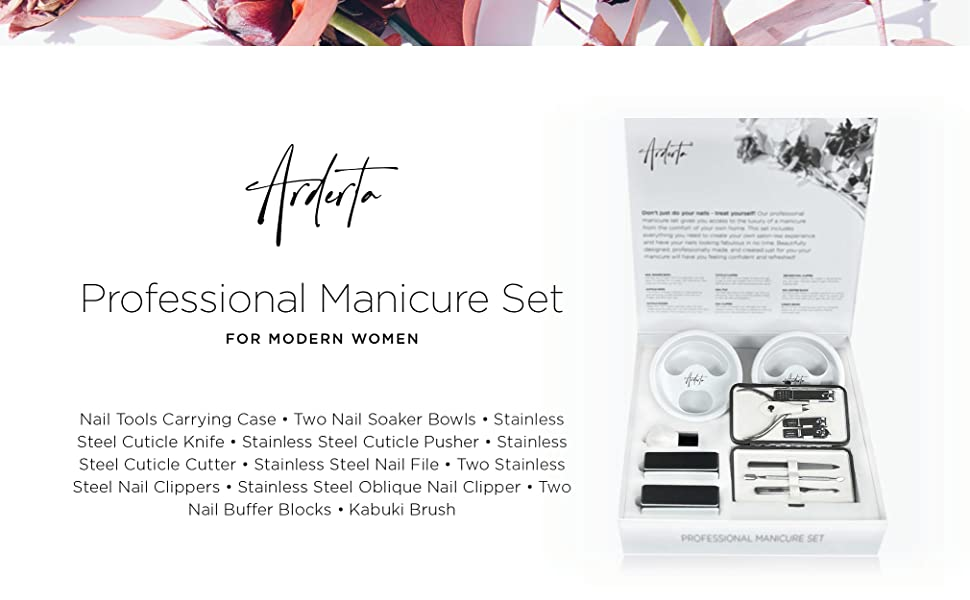 Manicure Set Gift Box for Women