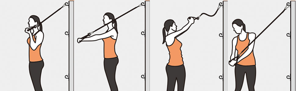Anchor for resistance bands