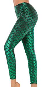 Halloween Mermaid Leggings