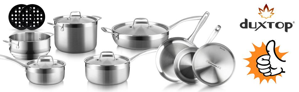 duxtop 14pc cookware set