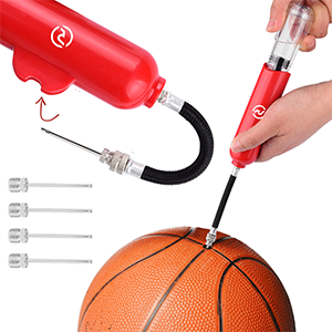 with flexible hose needle avoid damage your ball valve comfortable in inflating ball in hurry