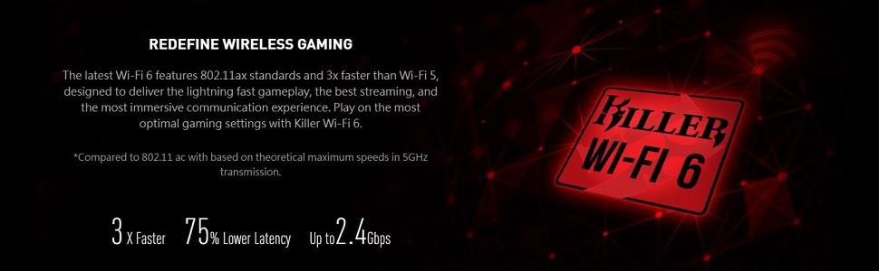 Killer Wi-Fi 6