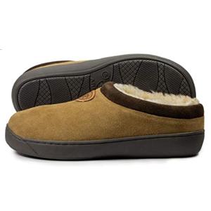 mens scuff slippers