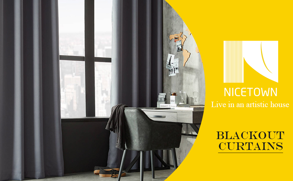 blackout curtains for bedroom living room kitchen