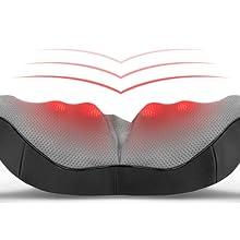heating function back massager