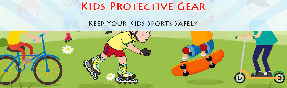 Elbow pads for kids
