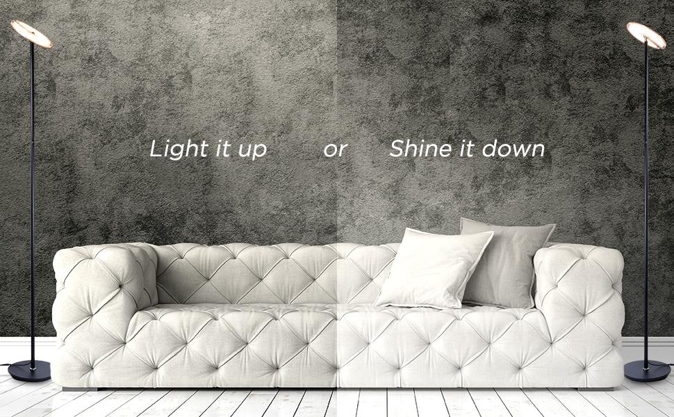versatile floor lamp behind the couch lamp flexible standing light office floor lamp rotatable light