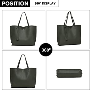 Handbag Satchel for Women Top Handle Trendy Simple Modern Lightweight Casual for Traveling Outing