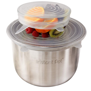 Strong Stackable Instant Pot lid container lid