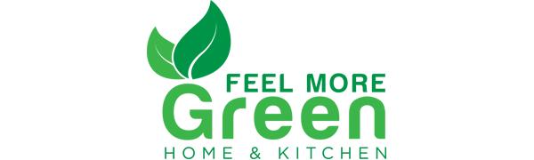 logo feelmoregreen dishcloth biodegradable products