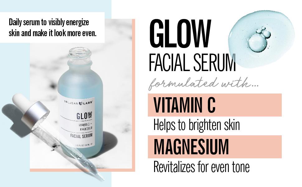 Valjean Labs Glow Facial Serum