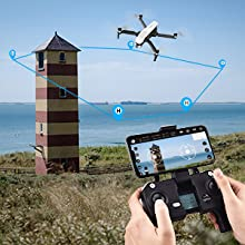 Flashandfocus.com c5bbb65b-76f0-4b50-96b5-3c13074e8385.__CR0,0,300,300_PT0_SX220_V1___ SIMREX X20 GPS Drone with 4K HD Camera 2-Axis Self stabilizing Gimbal 5G WiFi FPV Video RC Quadcopter Auto Return Home…