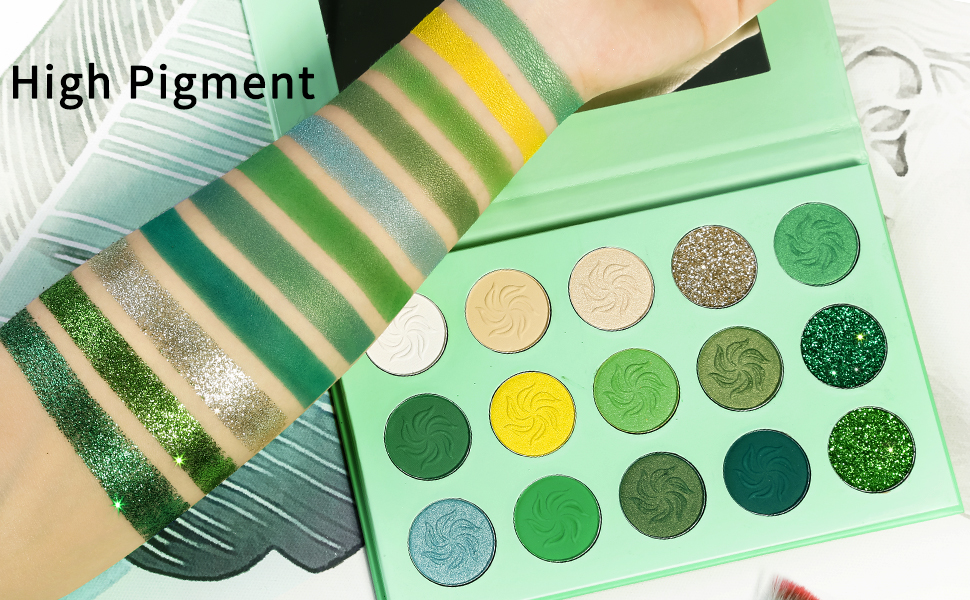 Eyeshadow Palette Features