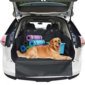 Pullpritt Kofferraumschutz Hund Mit Seitenschutz Universal Wasserdichter Hundedecke Auto Kofferraum Schützt Vor Schmutz Kratzern Und Hundehaaren Haustier