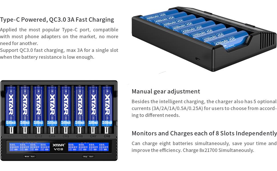 alt='18650 batteries Charger'