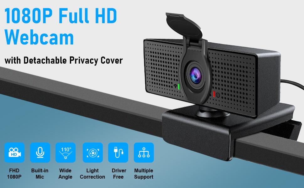 1080P HD web camera