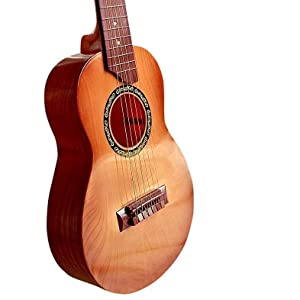 "Toyshine 6-String 24"" Acoustic Guitar Kids Toy, Brown…"