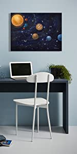space wall decor