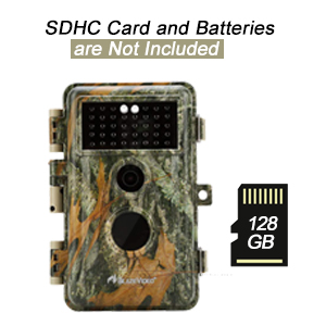 battery and SD card not included