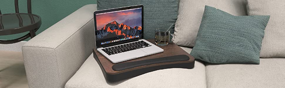 bed table for laptop,study table,lapdesk with memory foam,lapdesk,laptray desk,students tray desk