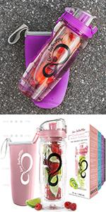 Time Marked Infuser Bottle