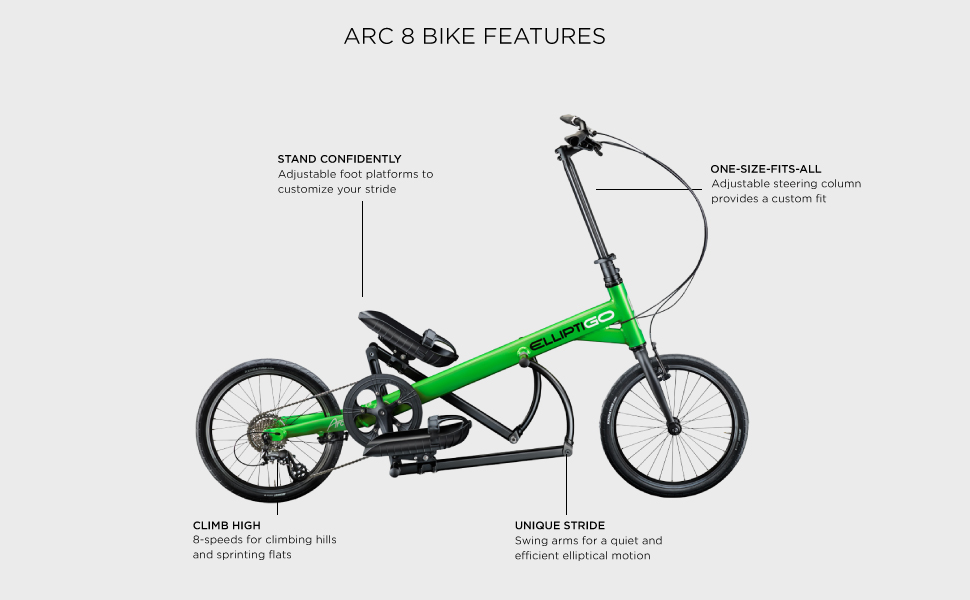 ARC 8 FEATURES