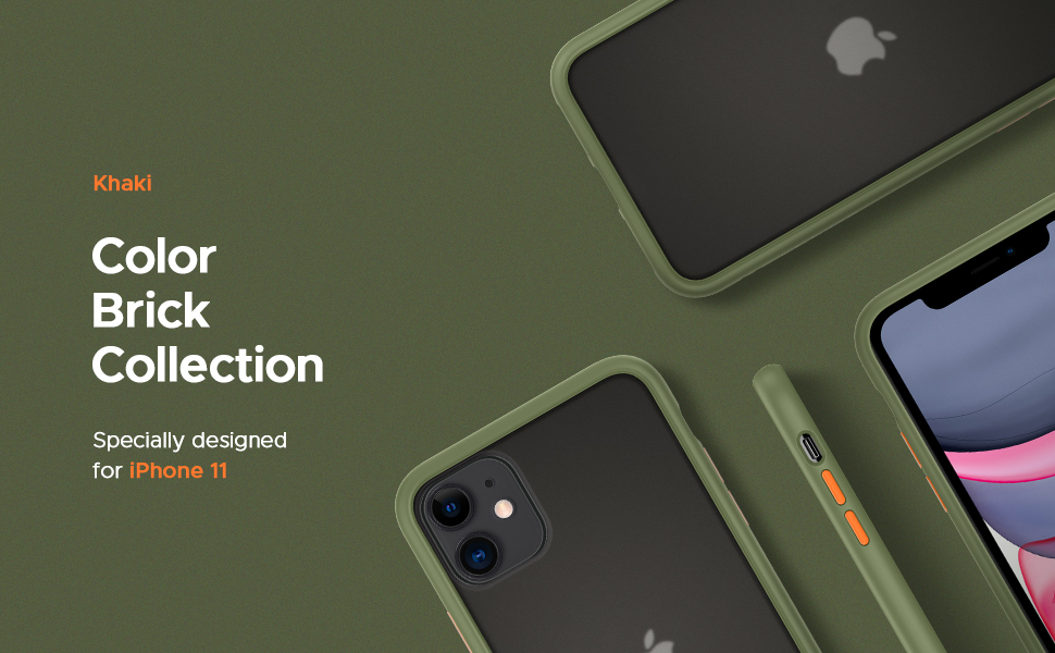 Color Brick Collection for iPhone 11
