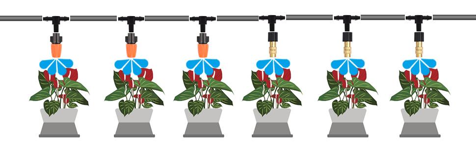 131ft Irrigation Set