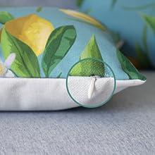 durable lumbar pillow cover