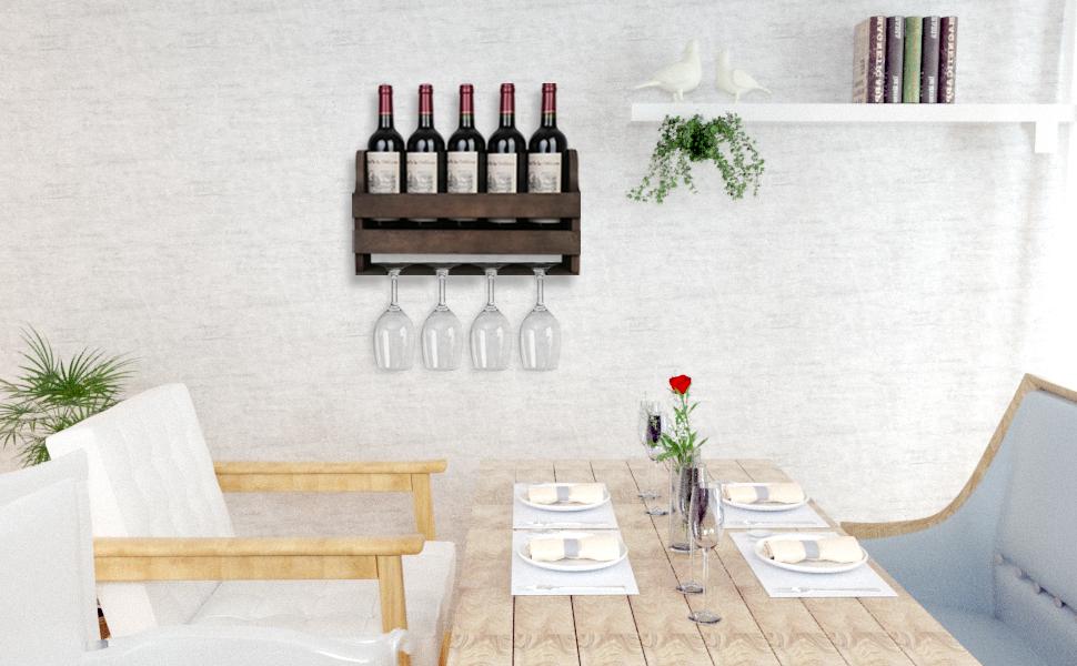 Wine Storage Display Shelf