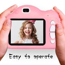 kid camera with flash light