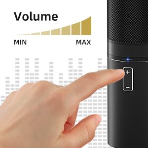 Comodo pulsante volume