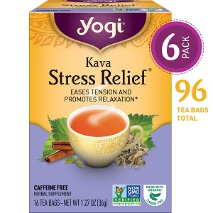 yogi kava stress relief tea eases tension and promotes relaxation