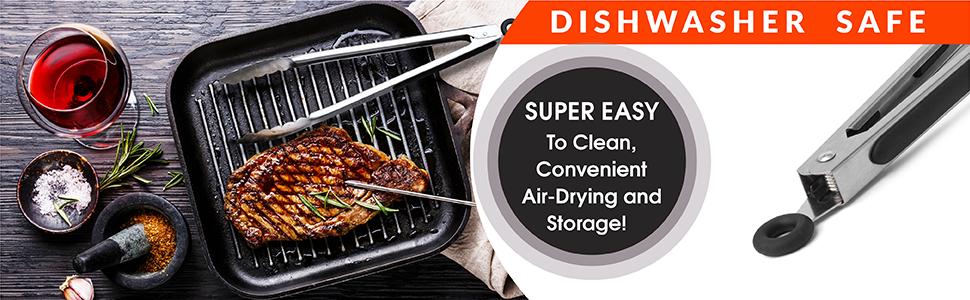 dishwasher safe tongs