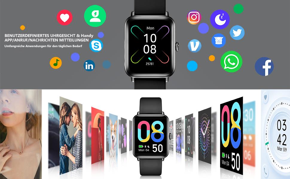 smartwatch Intelligente Benachrichtigung