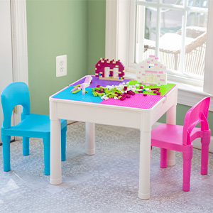 3-in-1 Pastel Activity Table