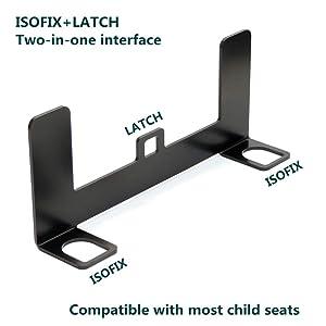 Universal Auto Kindersitz Halter Universal Metall Sicherheitssitz Halterung Für Isofix Gurtverbinder Sicherheitsgurthalterung Für Kindersicherheit Auto Universal Auto