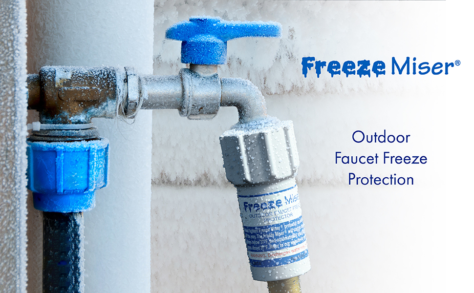 blue penguin 6000b miser outdoor freeze protection replacement for winter faucet covers white