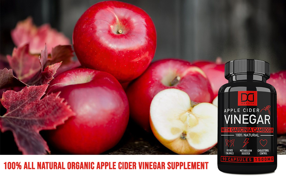 apple cider vinegar capsules pills for weight loss
