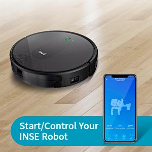 robot vacuum wifi app