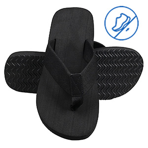 Oliviavan Mens Beach Shoes Casual Personality Flats Durable Flip-Flops Antiskid Slippers