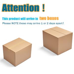 2 boxes shipped