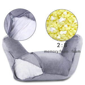 18 in reading pillow