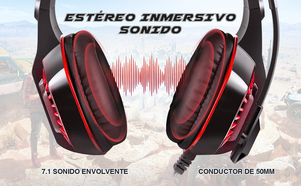 envel audifonos gamer