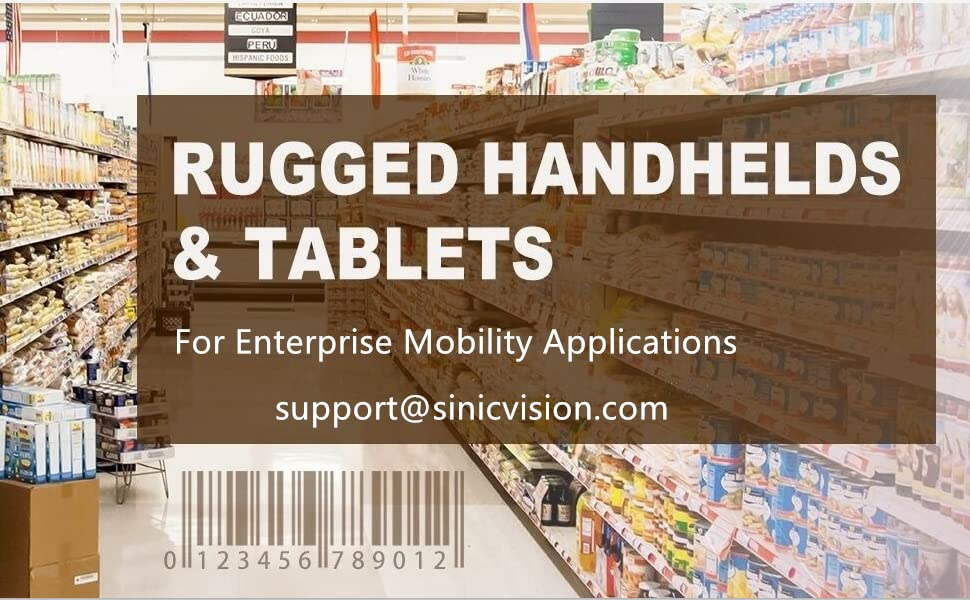 rugged tablets and handheld data terminals for enterprise mobility applications field work