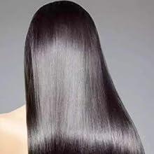 smooth human hair