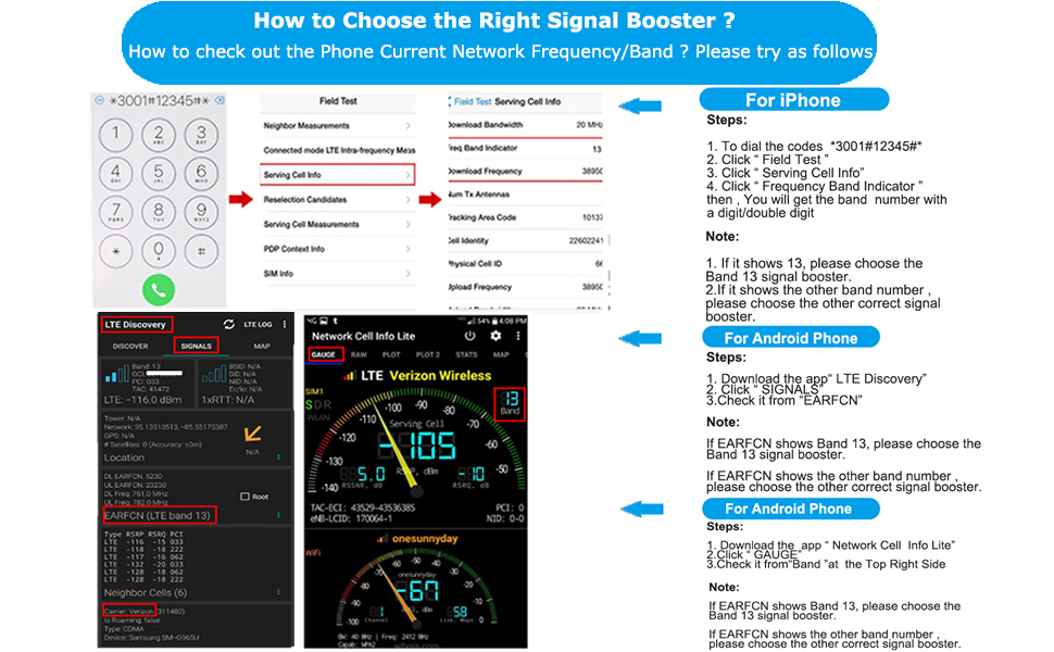 How do i know the right signal booster