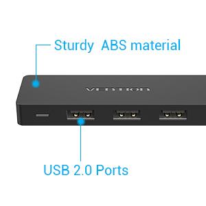 USB 2.0 PORTS