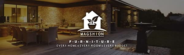 Magshion F Futon-F-Blk Colorful Cover Slipcover Black Full Size