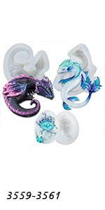 Dragon Molds Set